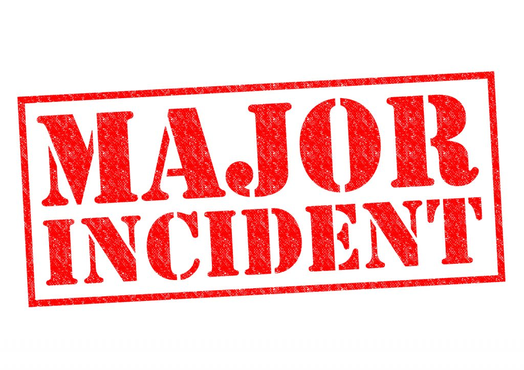 major incident management IT S