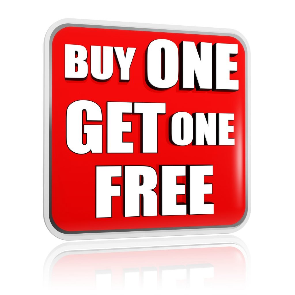 Buy One Get One Free: Buy One Get One