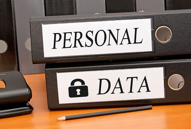 sharing personal data
