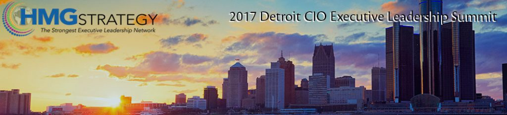 Detroit CIO Executive Leadership Summit, taking place at the Westin Book Cadillac Detroit on Thursday, June 1, 2017