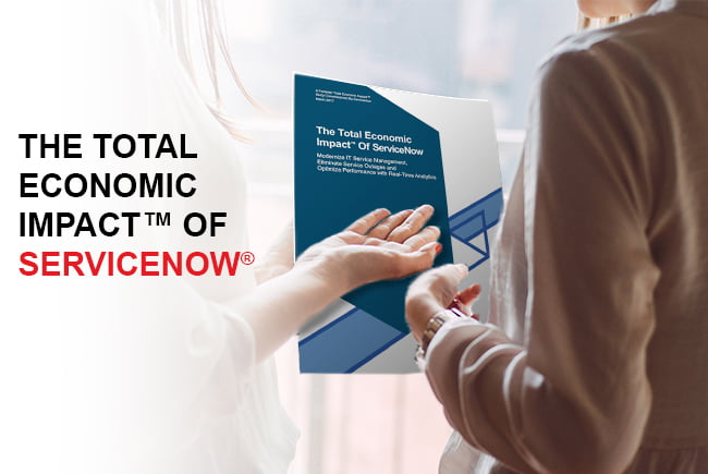 Forrester Research Reveals Economic Value of ServiceNow
